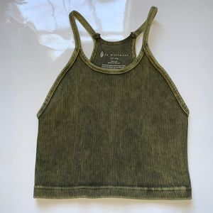 Free People movement crop top size M/L!